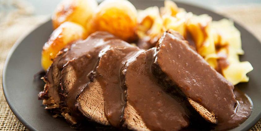 Sauerbraten - Roast Beef Stew