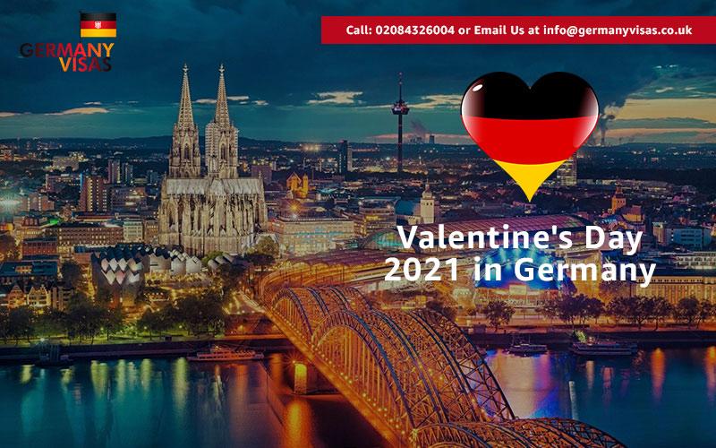 Valentine's Day 2021 in Germany
